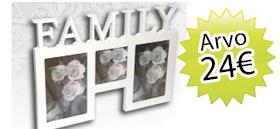 Antiikki & Design + lehden tilaajalahjaksi Family kuvakehys