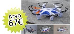 Maailman Historia + lehden tilaajalahjaksi Hover Drone Nano