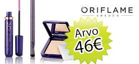 6 nroa Kauneus & Terveys lehteä + Oriflame kosmetiikkasetti tilaajahja