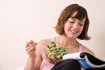 Trendi lehti viihdyttää ja kannustaa terveellisiin elintapoihin